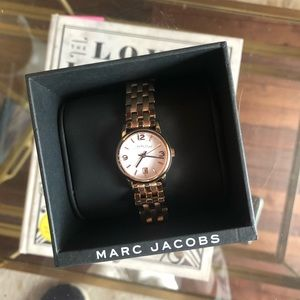 Marc Jacobs the Slim Watch Rose Gold